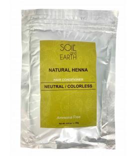 Naturalna Henna Indyjska Cassia (BEZBARWNA)  w saszetce 100g Soil &Earth