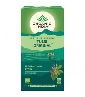 The Original Tulsi Tea Organic India 25 torebek na odporność