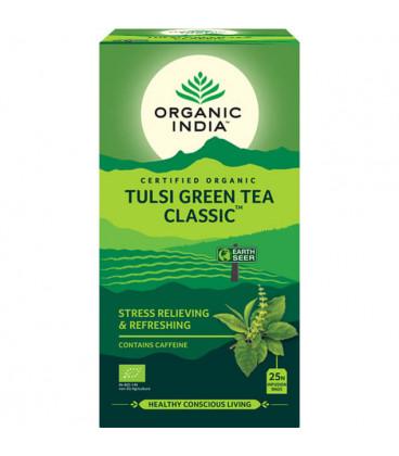 The Original Tulsi Green Tea Organic India 25 torebek