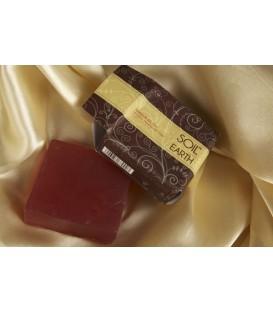 Mydło Naturalne Amber Musk, 125g, Soil & Earth antystresowe