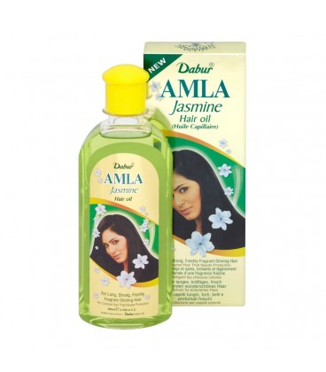 Olejek Amla Jasmine do włosów jasnych 200ml Dabur