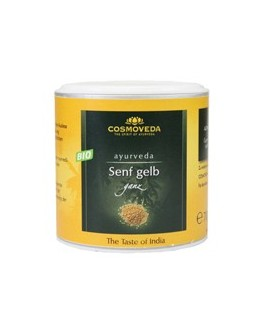 Organic Mustard Seeds yellow whole 130g