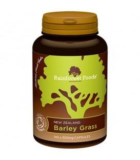 Trawa Jęczmienna Rainforest Foods (140 kapsułek x 500 mg) BIO