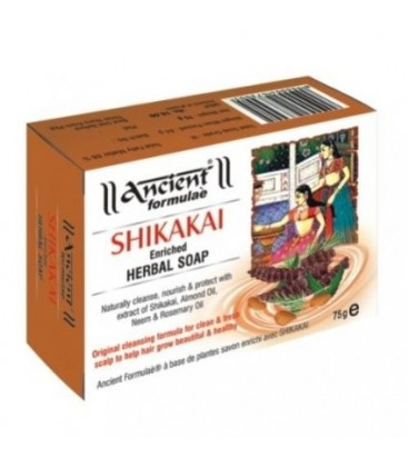 Mydełko do włosów SHIKAKAI wzmacniające  75g Hesh