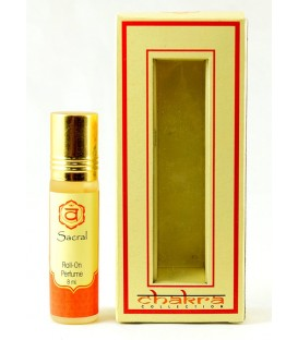 Olejek perfumowany na 2 czakrę SACRAL 8 ml Chakra Collection