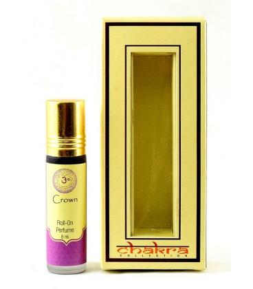 Olejek perfumowany na 7 czakrę CROWN 8 ml Chakra Collection