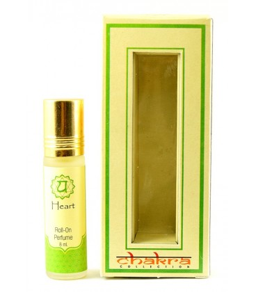 Olejek perfumowany na 4 czakrę HEART 8 ml Chakra Collection