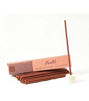 NIe zawierające bambusa kadzidła indyjskie z uchwytem HEALTH 50 sztuk Song of India