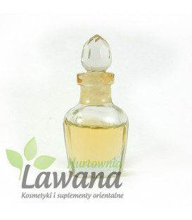 8 ml. Herbal Bath Oil for Shower Massage in Glass Decanter in Khaki  Pack Buddha Delight