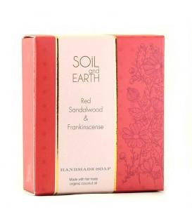 Mydło Orientalne CZERWONY SANDAŁOWIEC 100g Soil & Earth - Indyjski Afrodyzjak