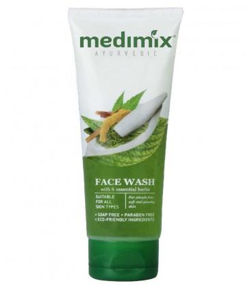 Żel do mycia twarzy z 6 ziołami ajurwedyjskimi 100g Medimix