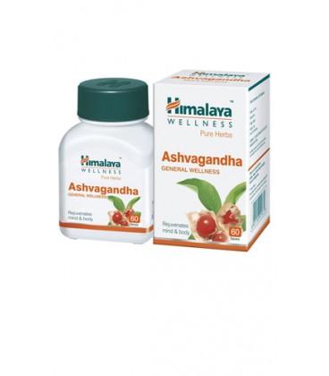 Ashwagandha Himalaya na witalność i energię (suplement diety)