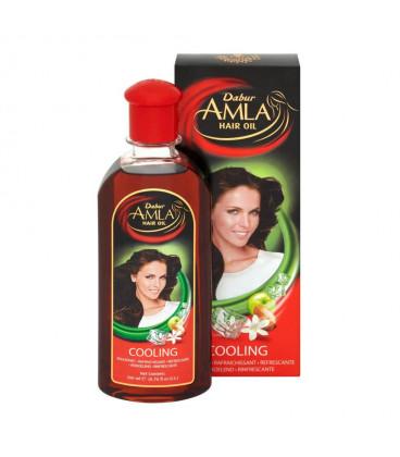 Olejek do włosów chłodzący (Amla Hair Oil Cooling) 200ml Dabur