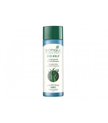 Szampon Oczyszczająco Pobudzajacy Wzrost Wlosow z sola morska i olejkiem mietowym 190 ml Biotique