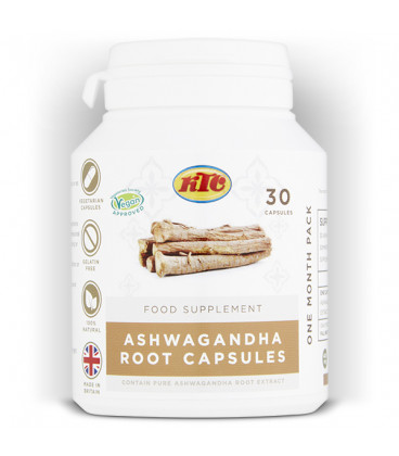Ashwagandha 30 kapsułek KTC suplement diety