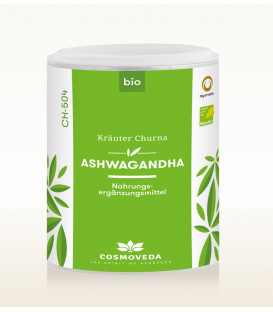Ashwagandha Churna 100g Cosmoveda (produkt spożywczy) BIO