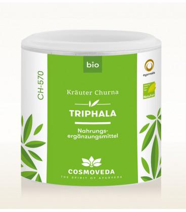 Triphala Churna 100g Cosmoveda (produkt spożywczy) BIO