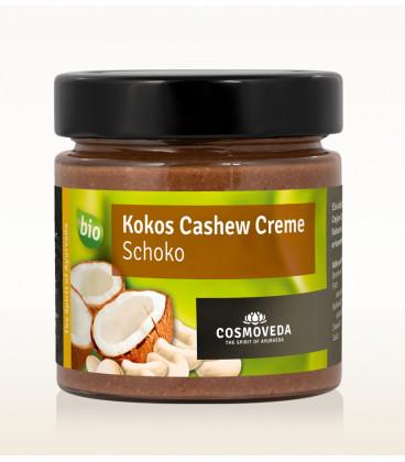 Krem Czekoladowo-Kokosowy z Orzechami Nerkowca ORGANICZNY 250g Cosmoveda