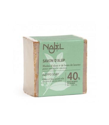 Mydło oliwkowo-laurowe Aleppo 185g (40% oleju laurowego) Najel