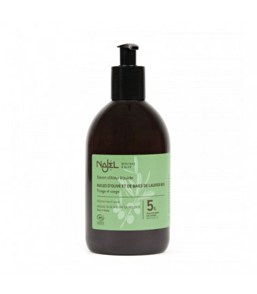 Mydło oliwkowo-laurowe w płynie 500ml Najel BIO