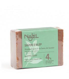 Mydło oliwkowo-laurowe Aleppo 155g 4% oleju laurowego Najel