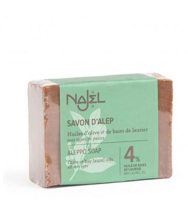 Mydło oliwkowo-laurowe Aleppo 150g 4% oleju laurowego Najel